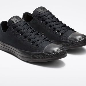 Converse Chuck Taylor All Star Low Top Black 8